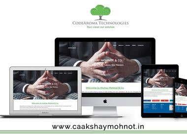 CA Akshay Mohnot - Website Development