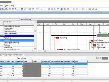 Project Scheduling and Resource Allocation