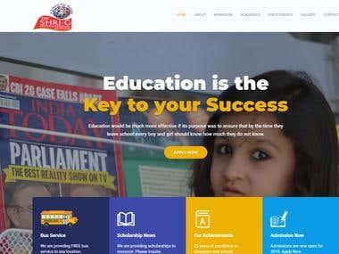 Wordpress School Website