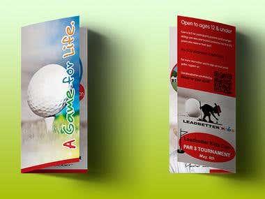 Brochure | Diseño de folleto Tri-Fold
