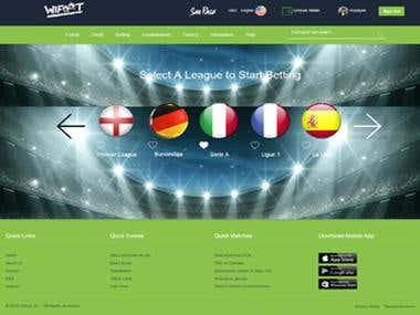 Betting Website and Payment gateway Website