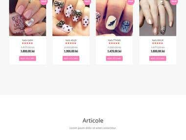 Fashion Site: Alady
