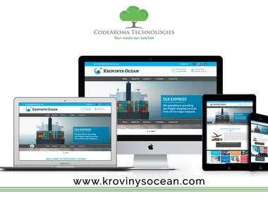 Krovinys Ocean - Website Development