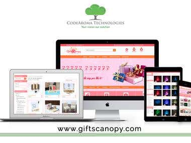 Gifts Canopy - eCommerce