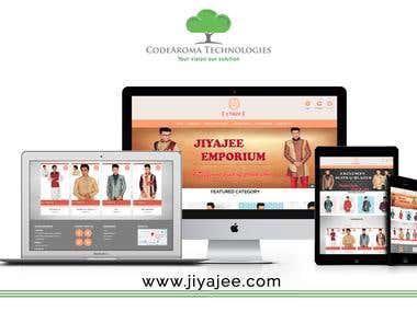 Jiyajee Emporium - eCommerce