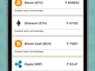 Cryptocurrencies live rate app