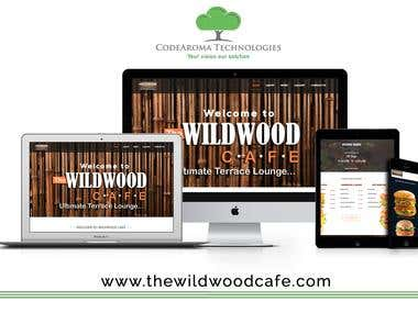 The Wild Wood Cafe - Website Development