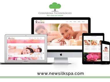 New Silk SPA - Website Development