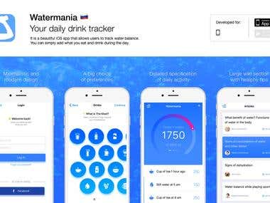 Watermania iOS app