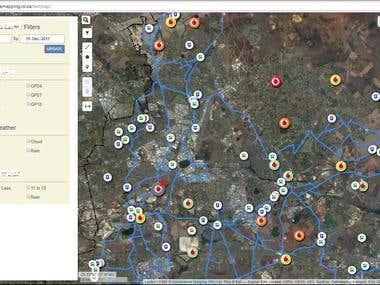 Web-Based Map