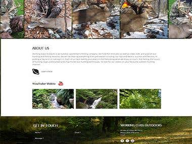 Hunter Website