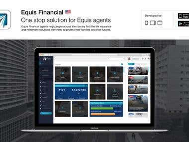 Equis Financial iOS and Android app