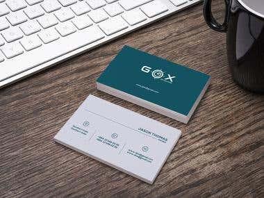 GOX Business card
