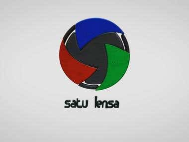 Satu Lensa Logo (3D Animation)