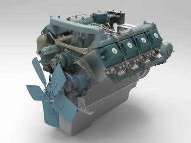 Motor KAMAZ