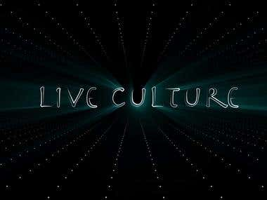 Live Culture After Effects Logo