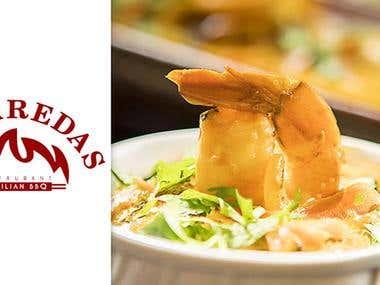 Web site - Labaredas Restaurant