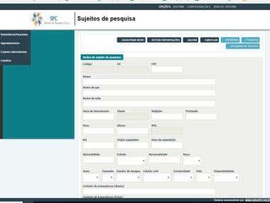 SPC - Sistema de pesquisa clínica
