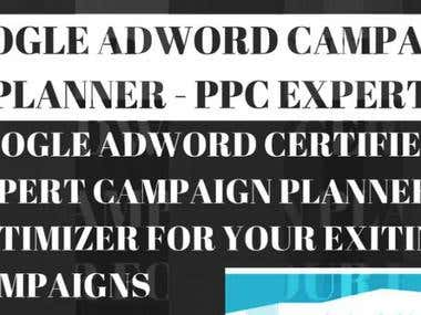Google Adword Campaign Planner