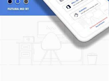 Teyveo Mobile app UI/UX Design