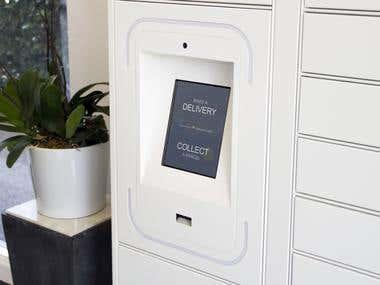Intelligent parcel locker - Groundfloor™