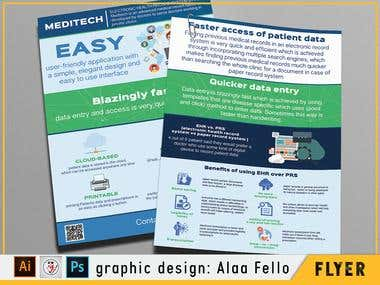 Flyer A4 infographic