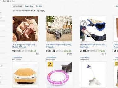 Listing on Ebay