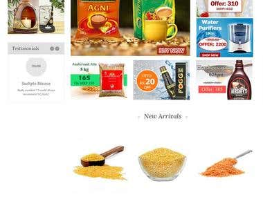 nqmart.com is an online food and grocery store.