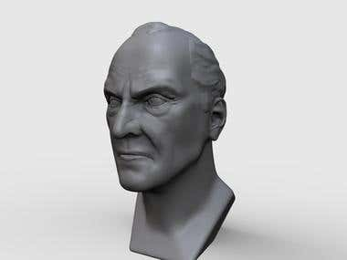 3d sculpt face