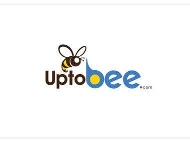 Upto Bee Logo Design