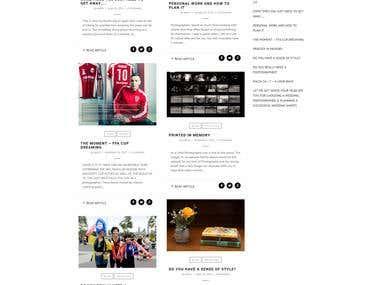 Mark Avellino Informational Website