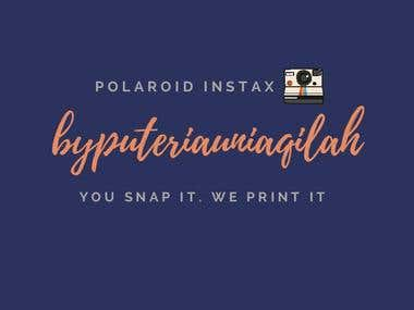 "Logo of ""Polaroid and Instax Inspired"""