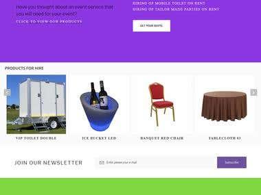 Events Website Edits & Translation