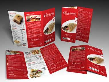 menu & invitation cards
