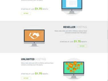 Re-seller Web Hosting Website