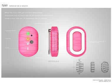 Industrial design UV Sensor
