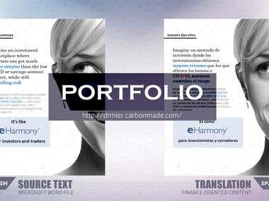 Professional Translation Services Portfolio.