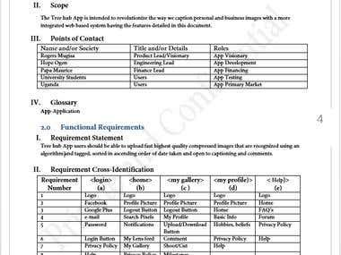 Business SOP's/Product Development Process