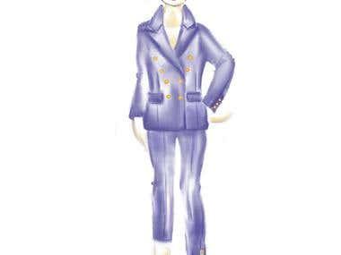 Sketch-child dress