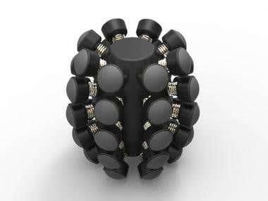 Hand Strengthener(3D modeling , Manufacturing Design)