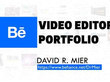 Portfolio. Video & Audio Editing Projects