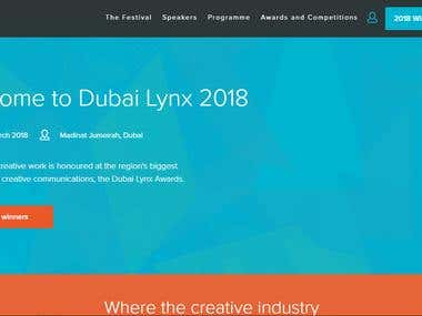 Dubai Lynx Website
