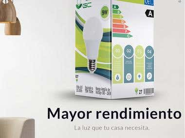 Packaging - Aviso publicitario revista