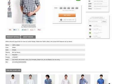 E-Commarce Website Design & Development.