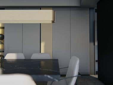 ANIMATION RENDERING / Livingroom Interior Design