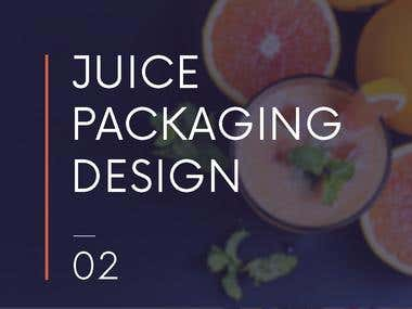 JUICE PREPACKAGING DESIGN