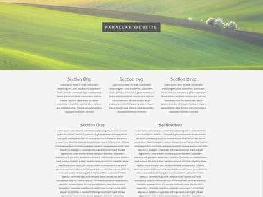 Pagina Web hecha con bootstrap