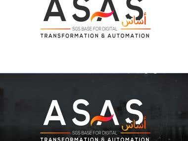 Propuesta Logo para ASAS - Empresa Arabe.