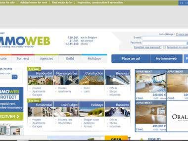 Immoweb Website