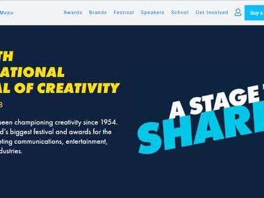 Cannes Lions website